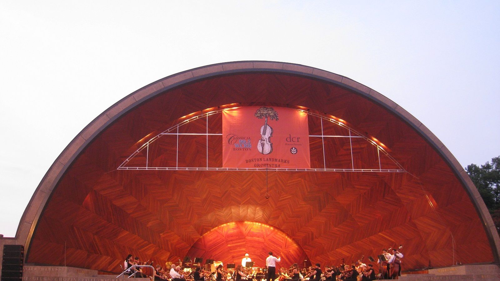 Boston Music Venues - DCR's Hatch Memorial Shell