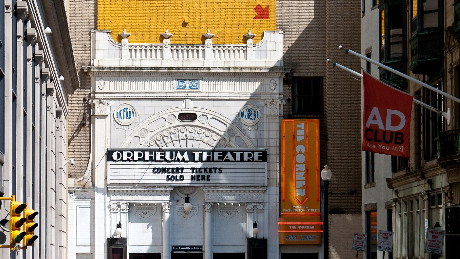 Boston Music Venues - Orpheum Theater