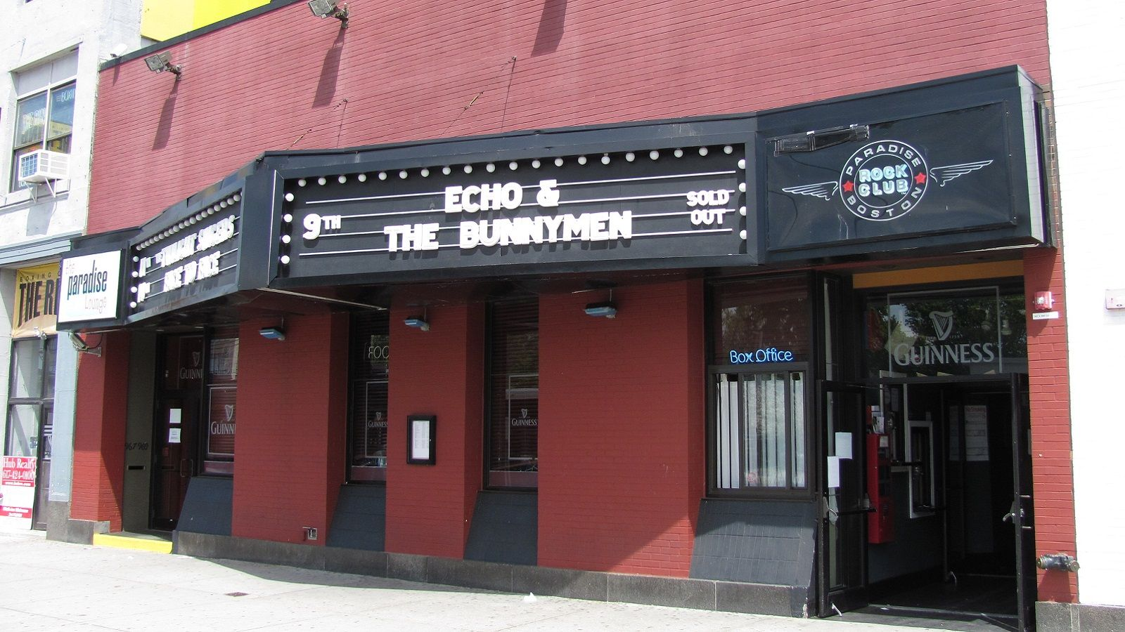 Boston Music Venues - Paradise Rock Club
